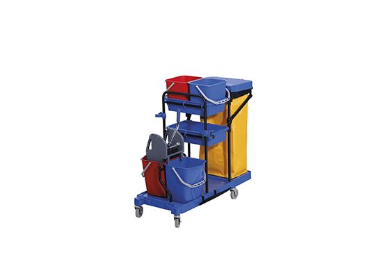 Deluxe Janitor Cart