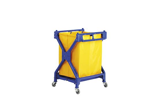 X - Shape Laundry Cart
